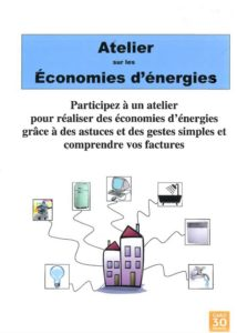 Bauvoisin : Atelier Economies d'Energies @ Beauvoisin
