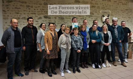 Association des forces vives de Beauvoisin en plein élan.
