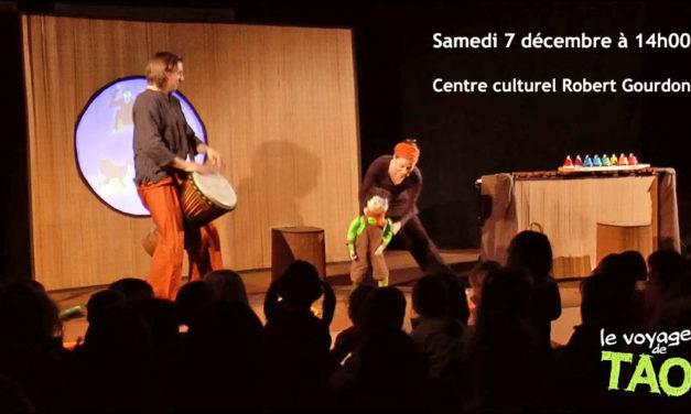 """Ce samedi, """"Le voyage de Tao"""" au Centre culturel"""