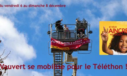 Du vendredi 6 au dimanche 8 décembre, Vauvert se mobilise pour le Téléthon !