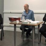 Soirée lecture à la médiathèque de Vauvert avec le poète danois Morten Sondergaard