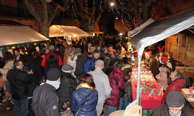 Un monde fou pour le marché de Noël du Cailar