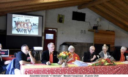 Assemblée Générale 2020 du Club Taurin « L'Abrivado » de Vauvert
