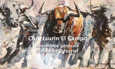 Club Taurin El Campo en assemblée générale