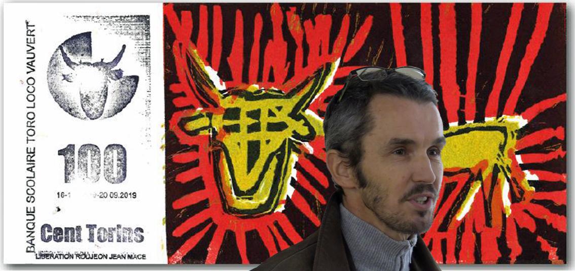 Ce samedi, venez découvrir Toro Loco, l'exposition de l'artiste graveur Vincent Dezeuze