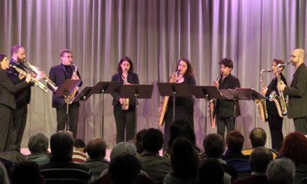 Beau moment musical avec l'ensemble Vice Versax à l'auditorium de l'école de musique