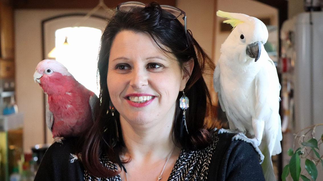 Caroline Marcaire, la passion des oiseaux
