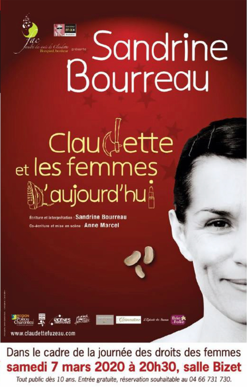 """Spectacle """"Claudette et les femmes d'aujourd'hui"""" @ Salle Bizet"""