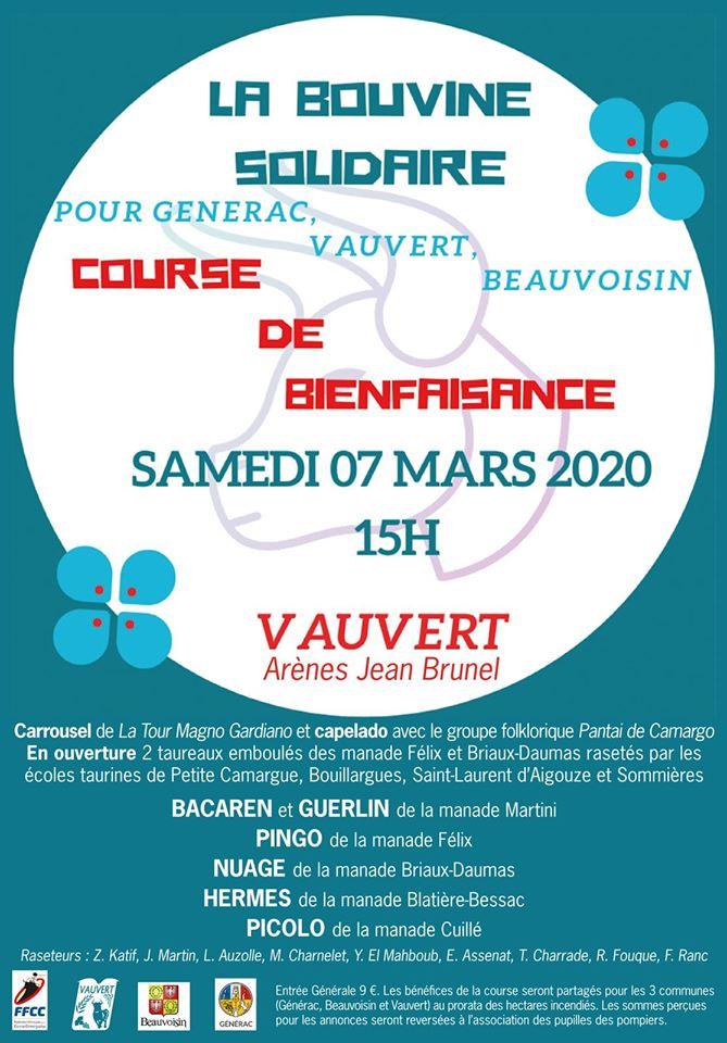 Course de bienfaisance @ Arènes Jean Brunel