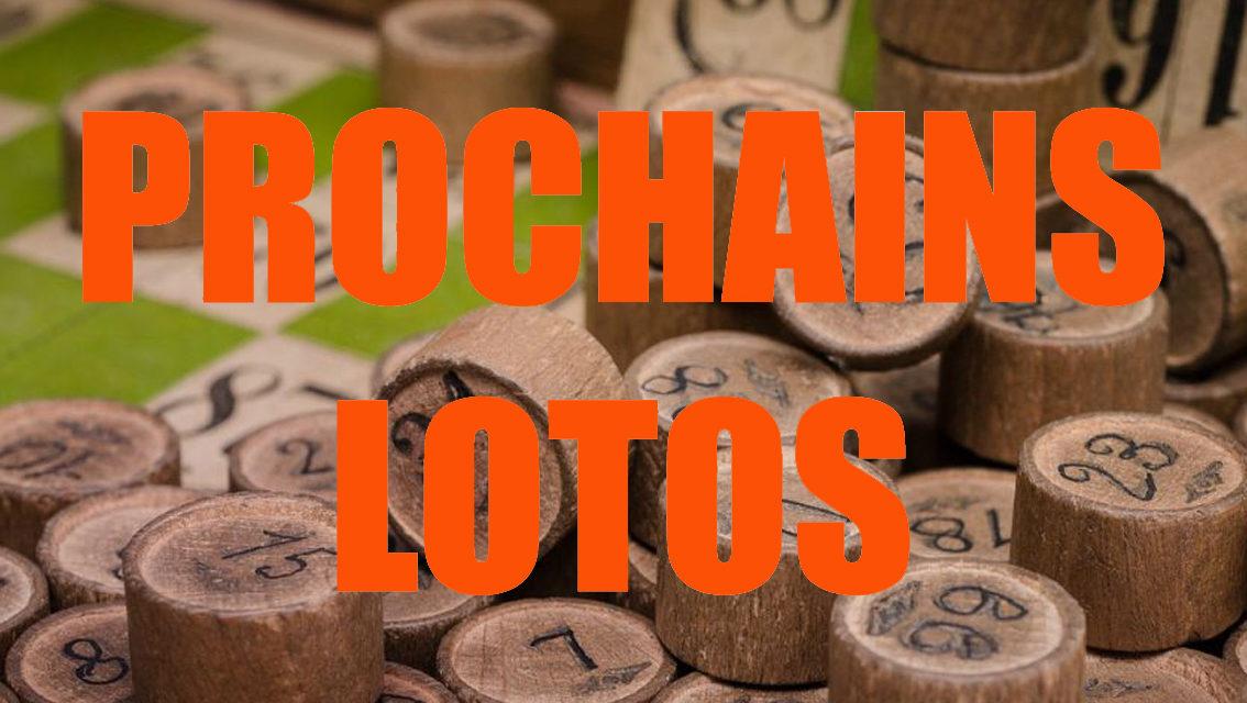 Les prochains lotos du 7 au 14 février