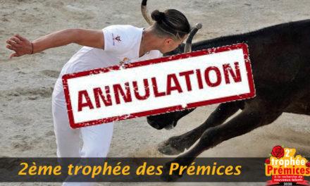 Trophée des prémices : La première course est reportée au 8 avril