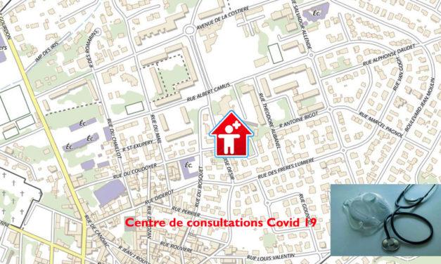 Le nouveau Centre de consultations Covid-19