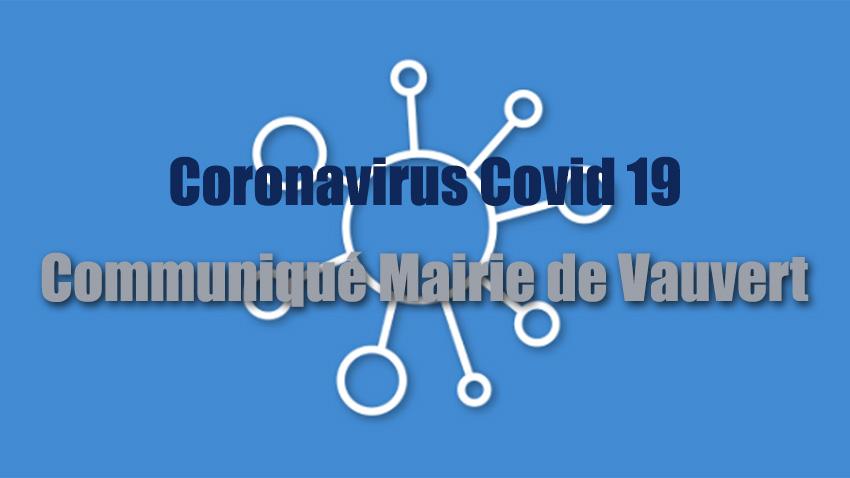 Coronavirus covid 19 : La ville de Vauvert organise les solidarités et met en place de nouvelles mesures