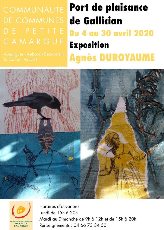 Expo Agnès Duroyaume @ Port de Gallician