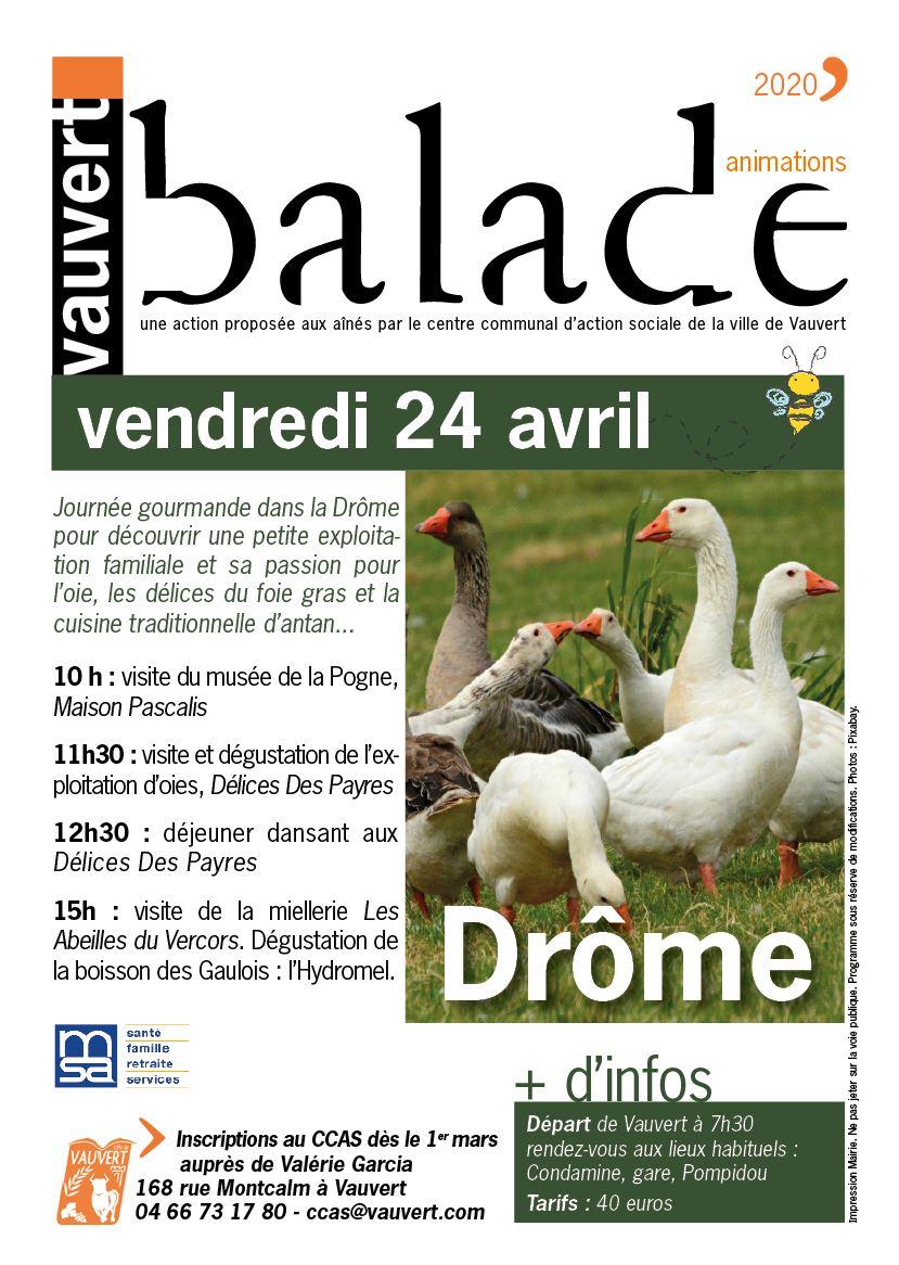 Journée gourmande dans la Drôme pour les aînés @ Drôme