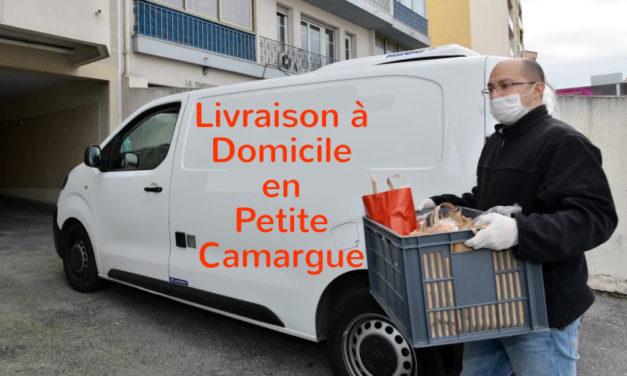 Pensez aux livraisons à domicile en Petite camargue
