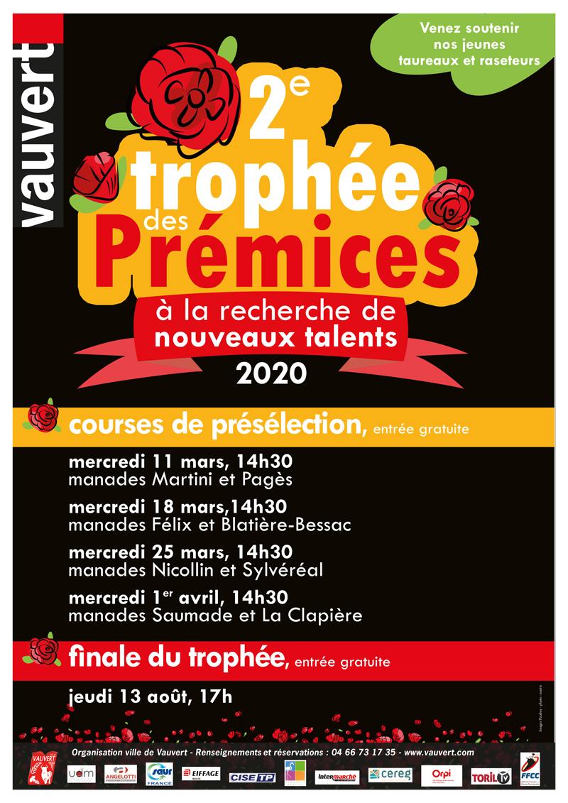 2e Trophée des Prémices @ Arènes Jean Brunel