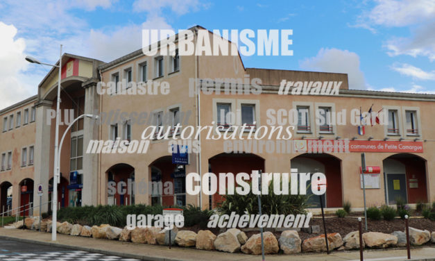Communauté de Petite Camargue : Report des délais d'instruction des dossiers d'urbanisme