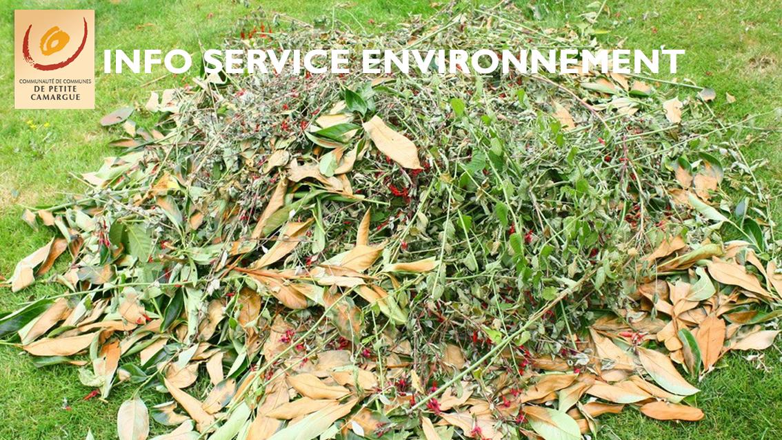 Stocker les déchets verts