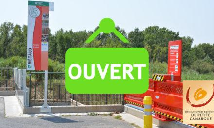 Petite Camargue : Ouverture des déchèteries