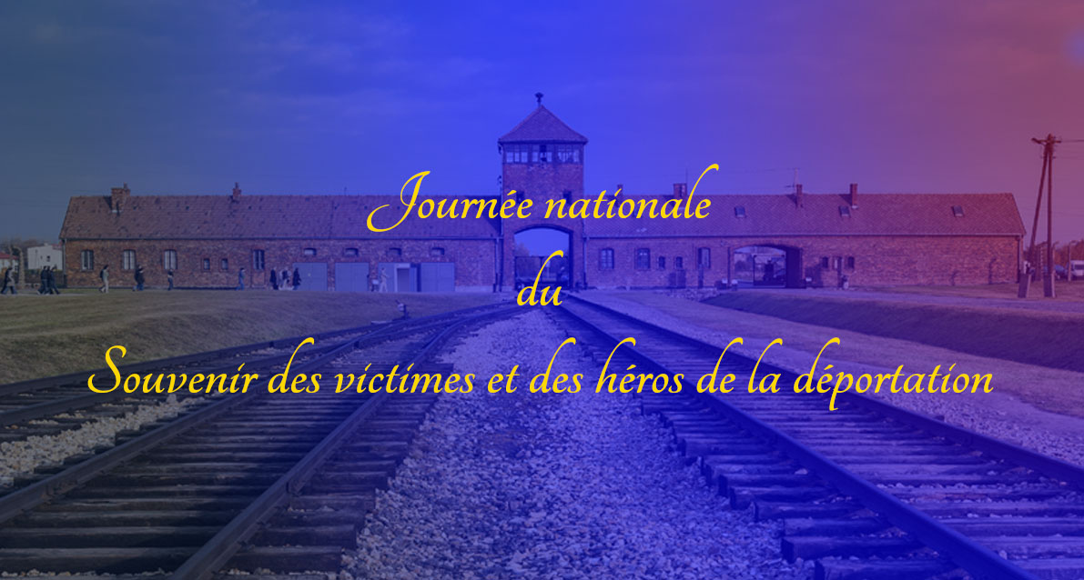 Hommage aux victimes et aux héros de la déportation à Vauvert et à Beauvoisin