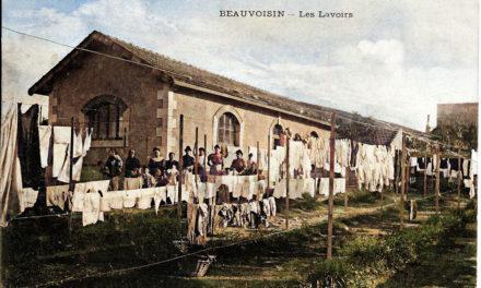 Une Photo, une Histoire : Les lavoirs de Beauvoisin.