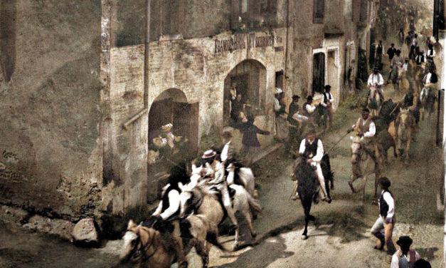 Une photo, une histoire : Abrivado à Beauvoisin.