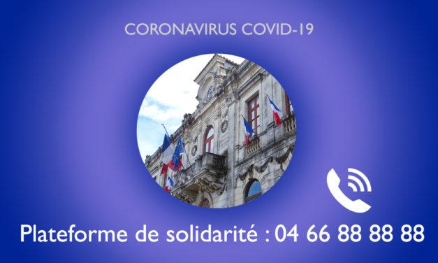 Plateforme de solidarité à Vauvert : Plus de 500 livraisons de courses effectuées