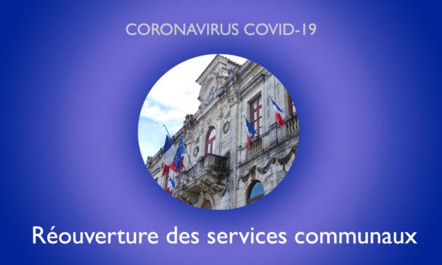 Vauvert : reprise d'activité progressive des services communaux
