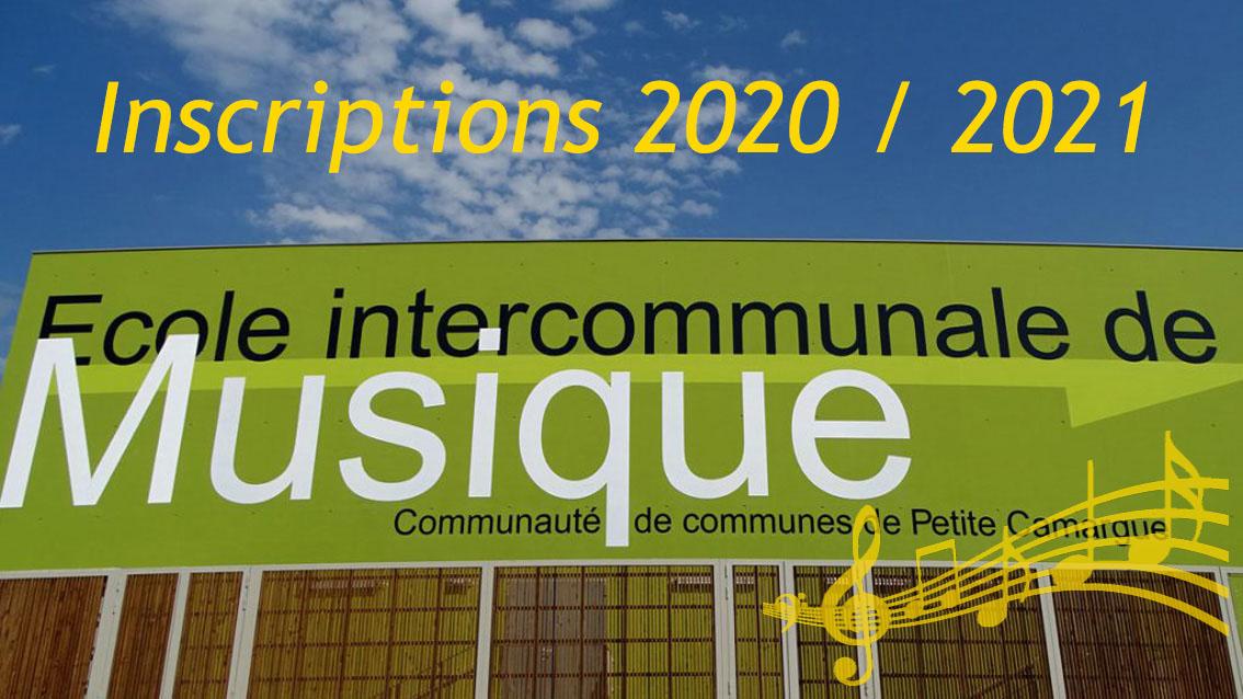 École de musique de Petite Camargue : Dates et modalités des inscriptions des nouveaux élèves