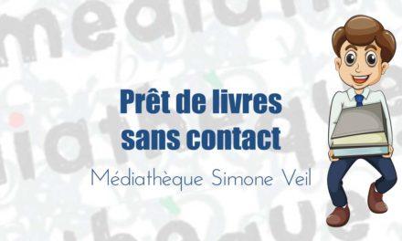 La médiathèque de Vauvert propose à ses abonnés un service prêt de livres sans contact dès le 2 mai