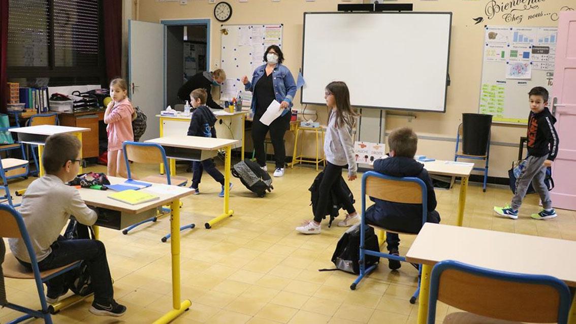 Reprise scolaire progressive à Vauvert