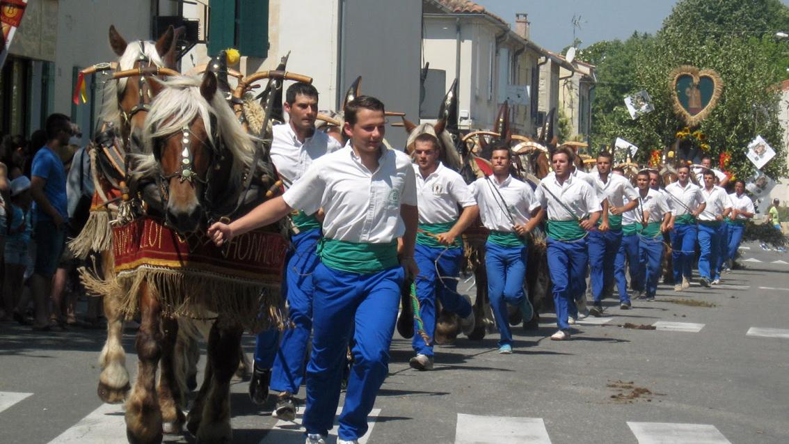 """La tradition des """"carreto ramado"""""""