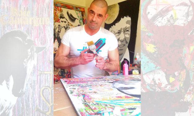 Du tag à la fresque, le peintre Teddy D bouscule les traditions