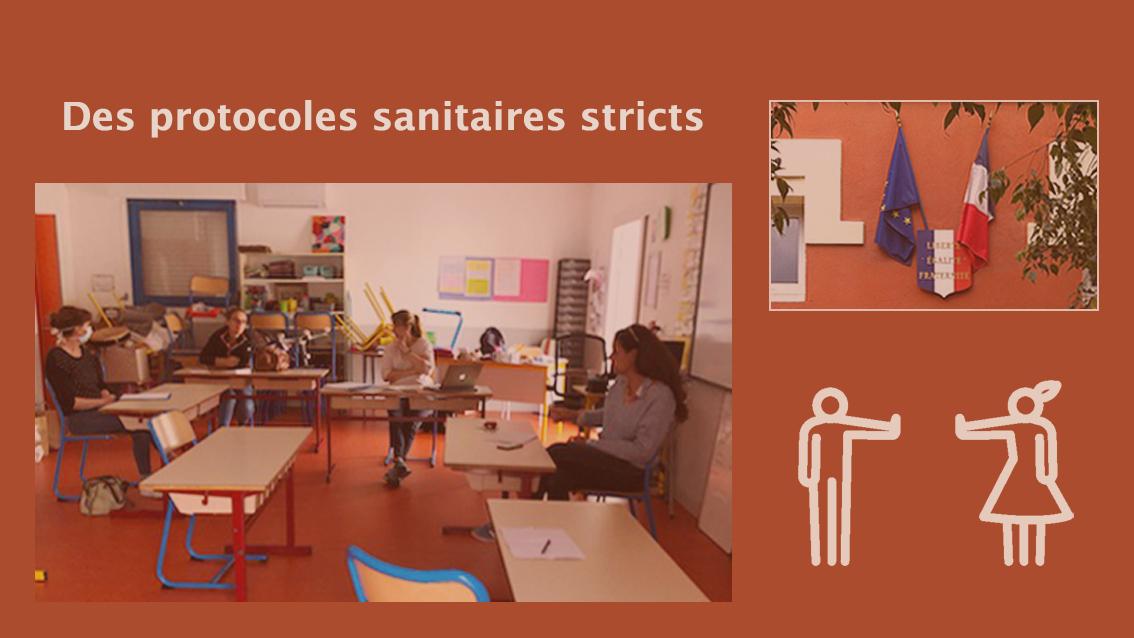 Réouverture des écoles à Aimargues : des protocoles sanitaires stricts