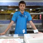 Folco Jullien à ramené le poisson frais à Vauvert