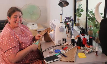 Anne Pineau a ouvert un atelier boutique au cœur de Vauvert