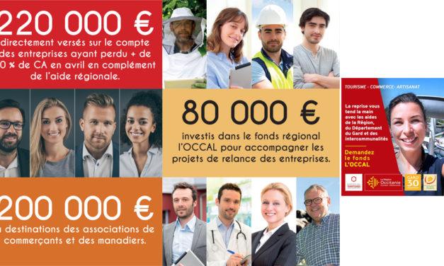 La communauté de Petite Camargue aux côtés de la Région et du Département pour soutenir l'économie locale