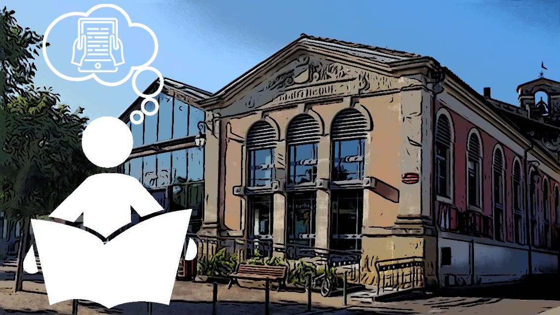 Ouverture d'une bibliothèque numérique à Vauvert