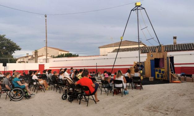 Gallician : Belle soirée familiale et conviviale dans les arènes