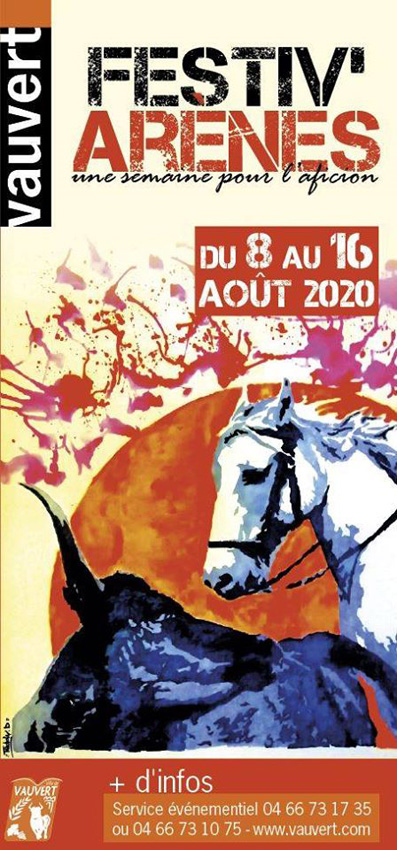Bruno Pascal présente le programme Festiv'Arènes