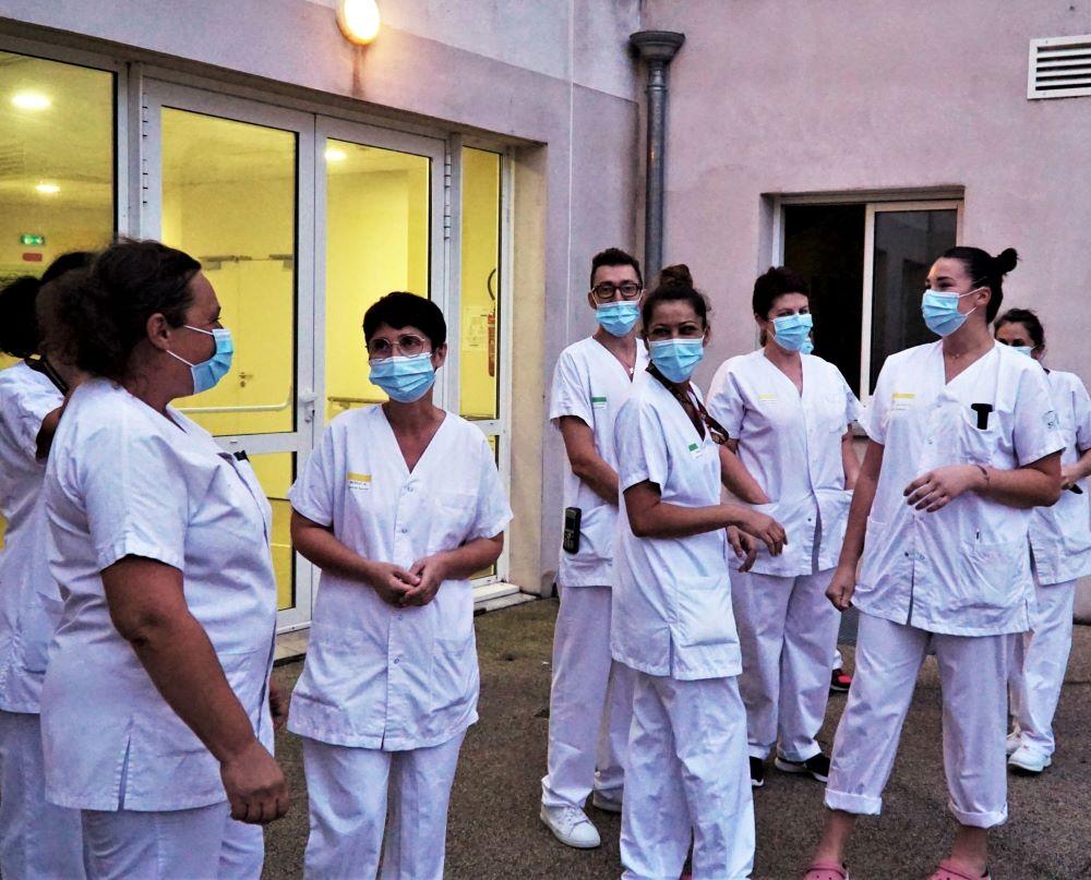 le personnel soignant