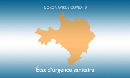 État d'urgence sanitaire : Le préfet renforce les mesures sanitaires locales