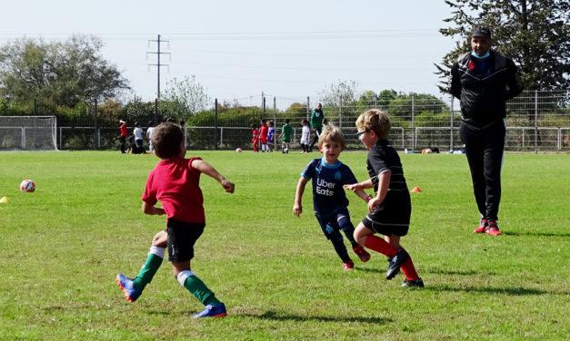 """Le Football Club Vauverdois créée une nouvelle section """"Baby Foot"""" pour les enfants de 4-5 ans"""