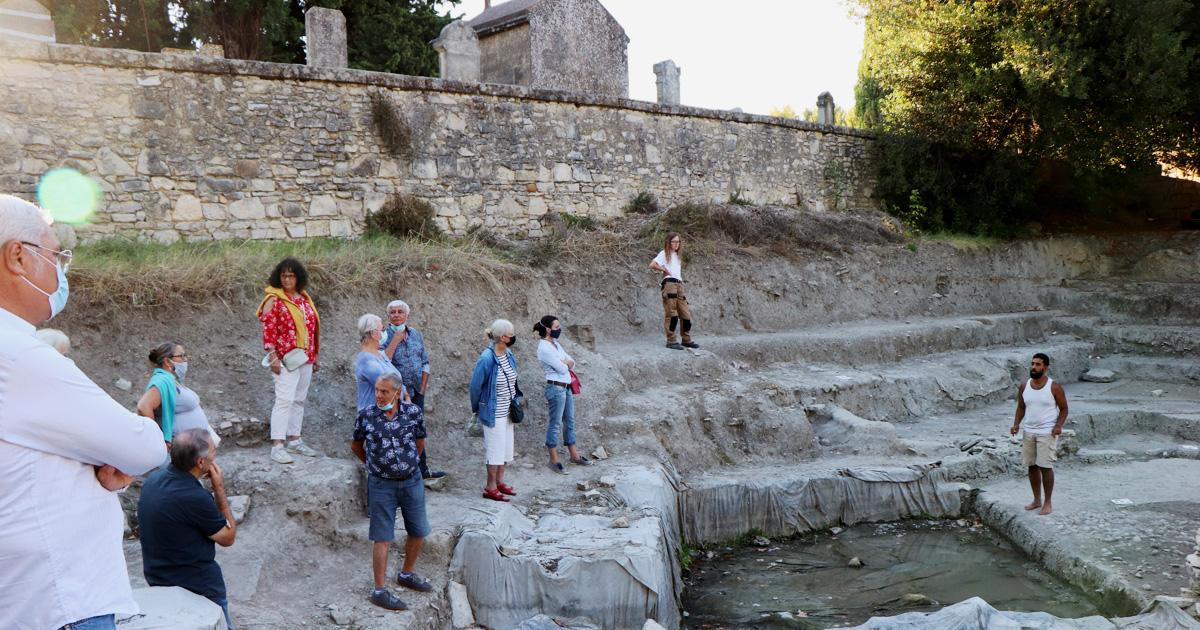 Le chantier archéologique a encore des secrets à livrer