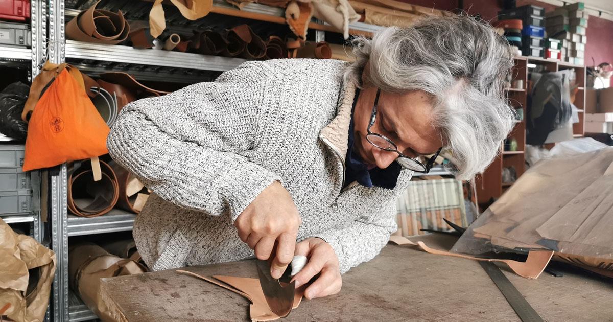 Christophe Berti, artisan de renommée, s'est installé à Gallician