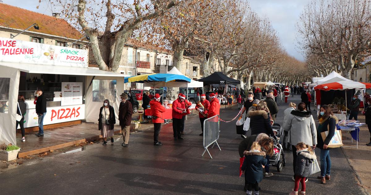 Une belle première à Aimargues pour le marché de Noël