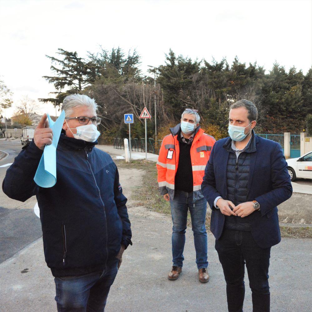 réunion fin de chantier ZA Grand Terre