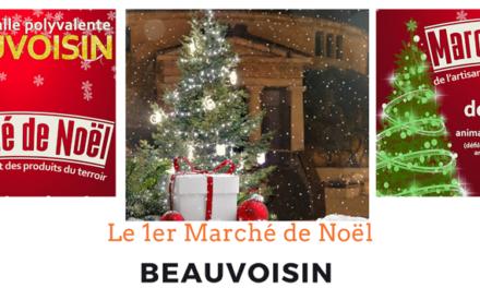 Le premier Marché de Noël de Beauvoisin