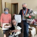 Bon anniversaire Madame Laurens pour vos 100 ans !